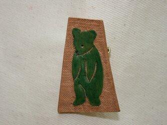 ラクガキバッジ クマの画像