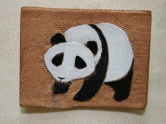 ラクガキバッジ パンダの画像
