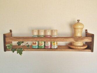 キッチンラック 飾り棚の画像