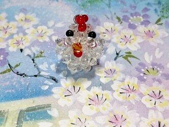 スワロフスキー「にわとり」の画像