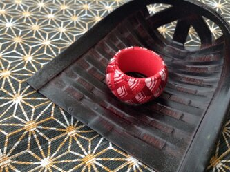 加賀ゆびぬき⭐️赤×桃の画像