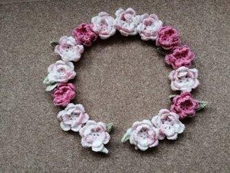 【アイリス様ご予約分】レース編み*お花のモチーフの画像
