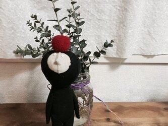 飾り人形 発表会の子供たち リンゴの画像
