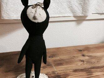 飾り人形 発表会の子供たち ウサギの画像