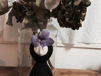 飾り人形 発表会の子供たち ビオラ バイオレットの画像