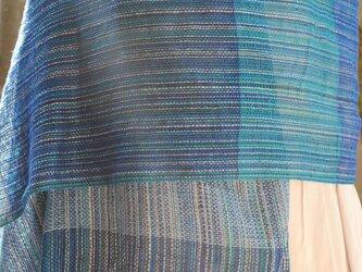 シルク手織ストール(ご注文)の画像