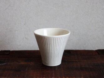 グレーストライプフリーカップの画像