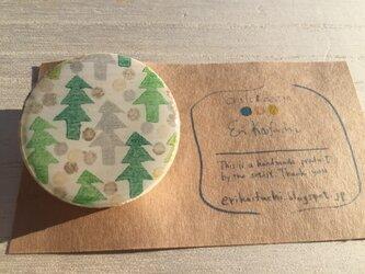 wood design hair elastic:forestの画像