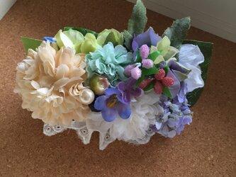 お花のバレッタ haru*の画像