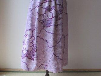 絞りのスカート 一点品の画像