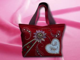 ハンドメイドバッグ01の画像