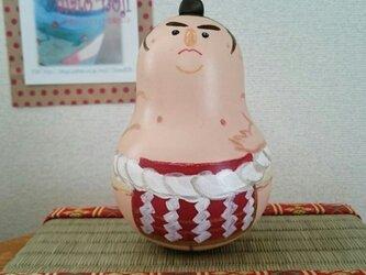 横綱さんのおきあがりこぼしの画像
