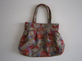 花柄のふんわりバッグ♪の画像