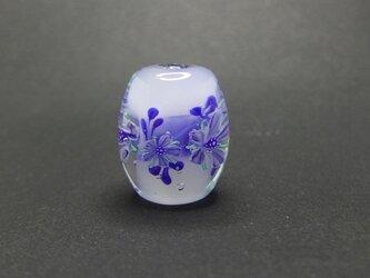 紫の花玉2の画像
