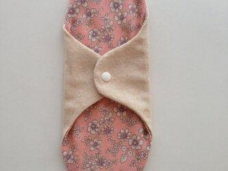 冷え取り布ナプキン♪(ピンク)の画像