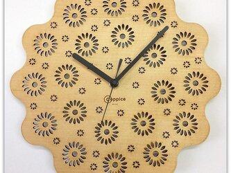 壁掛時計 ASTER (オーク)の画像