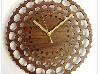 壁掛時計 CHESNUT (ウォールナット)の画像