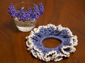 ひろミル様専用ページ コットン100%の手編みシュシュの画像