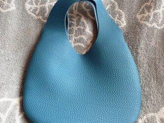 【受注再販】小さな革の袋・トリヨン有機デザインバッグ NEW!の画像