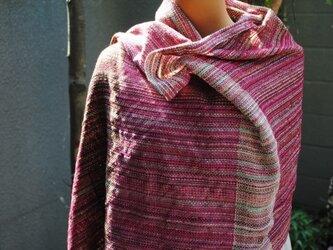 手織シルクストール(ご注文)の画像