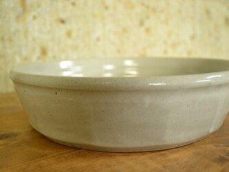 長石釉面取り鉢の画像