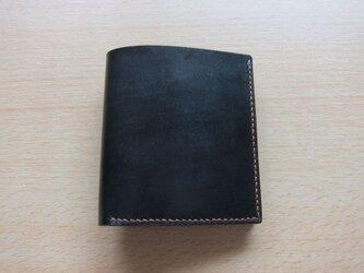 二つ折り財布 ミニ( ブライドルレザー )の画像