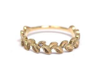 月桂樹の指輪(K10 ダイヤ)の画像