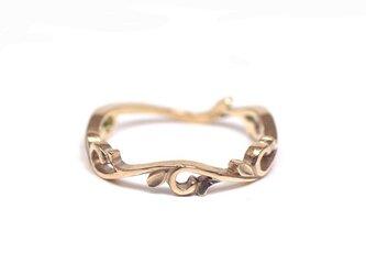 唐草の指輪(K10)の画像