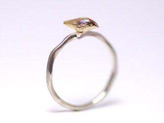 小鳥の指輪(K10,SV)の画像