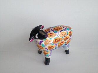カラフル羊の画像