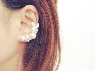 cotton pearl* earcuffの画像