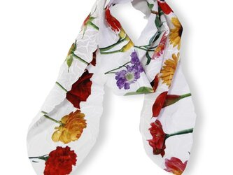 Simple Flower スカーフの画像