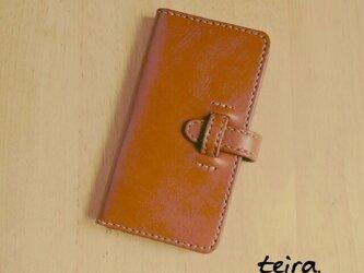 牛革のiPhone6ケースの画像