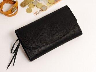 財布 wrap-L (HL) [ブラック]の画像