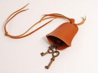 キーケース bell [ブラウン]の画像