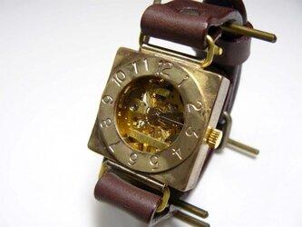 """手巻きBrass Mens """"Compass2-BHW""""  BRの画像"""