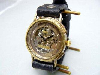 手巻きBrass JUMBO BHW059 SV/BKの画像