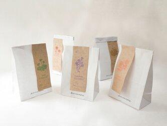 flower ラッピング袋セットの画像