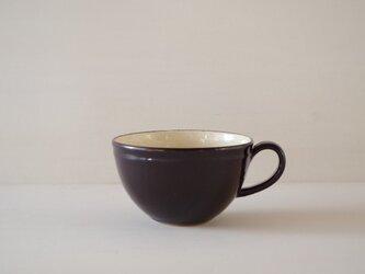 ティーカップ・丸・黒の画像