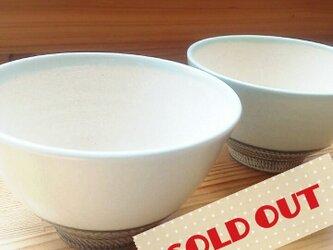 【完売御礼】(ペアセット)若草色茶碗の画像