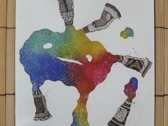 ポストカード colorful 2枚入りの画像