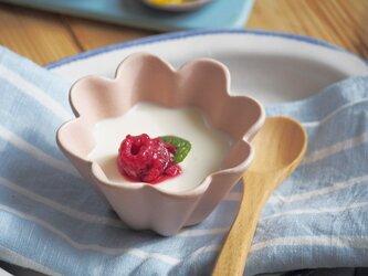 マカロンピンク・花カップ-s-の画像