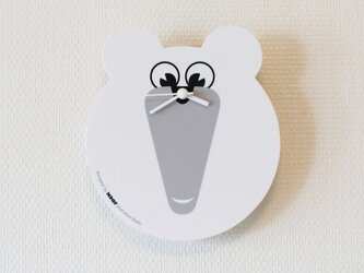 Wall Clock _Polar Bear#01の画像