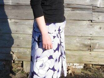浴衣のルンギー(紫)の画像