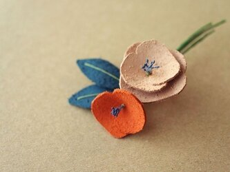 Flora コサージュ MIXの画像