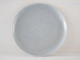 9寸皿・平・水の画像