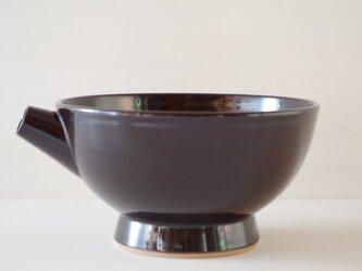片口・大・黒茶の画像