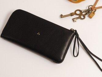 【受注製作】財布 lzw [ブラック]の画像