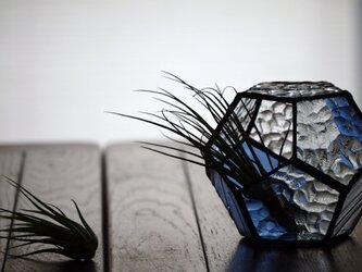 【再販】ステンドグラス 多面体 pentagonの画像