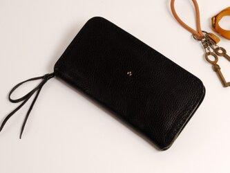 【受注製作】財布 rzw [ブラック]の画像